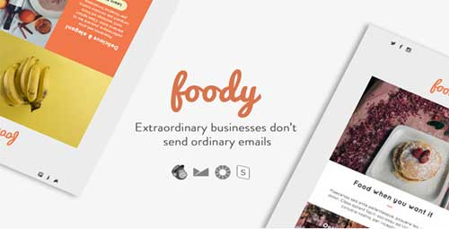 Foody email template