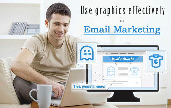 Graphics in email marketing