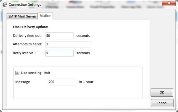 Mailer settings