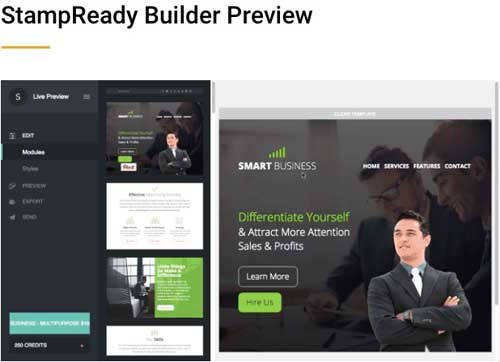 StampReady builder preview