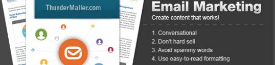 Email marketing content tips