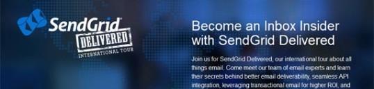 SendGrid SMTP email