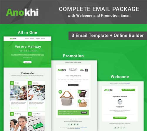 why you should use email templates from themeforest thunder mailer mass emailing software. Black Bedroom Furniture Sets. Home Design Ideas